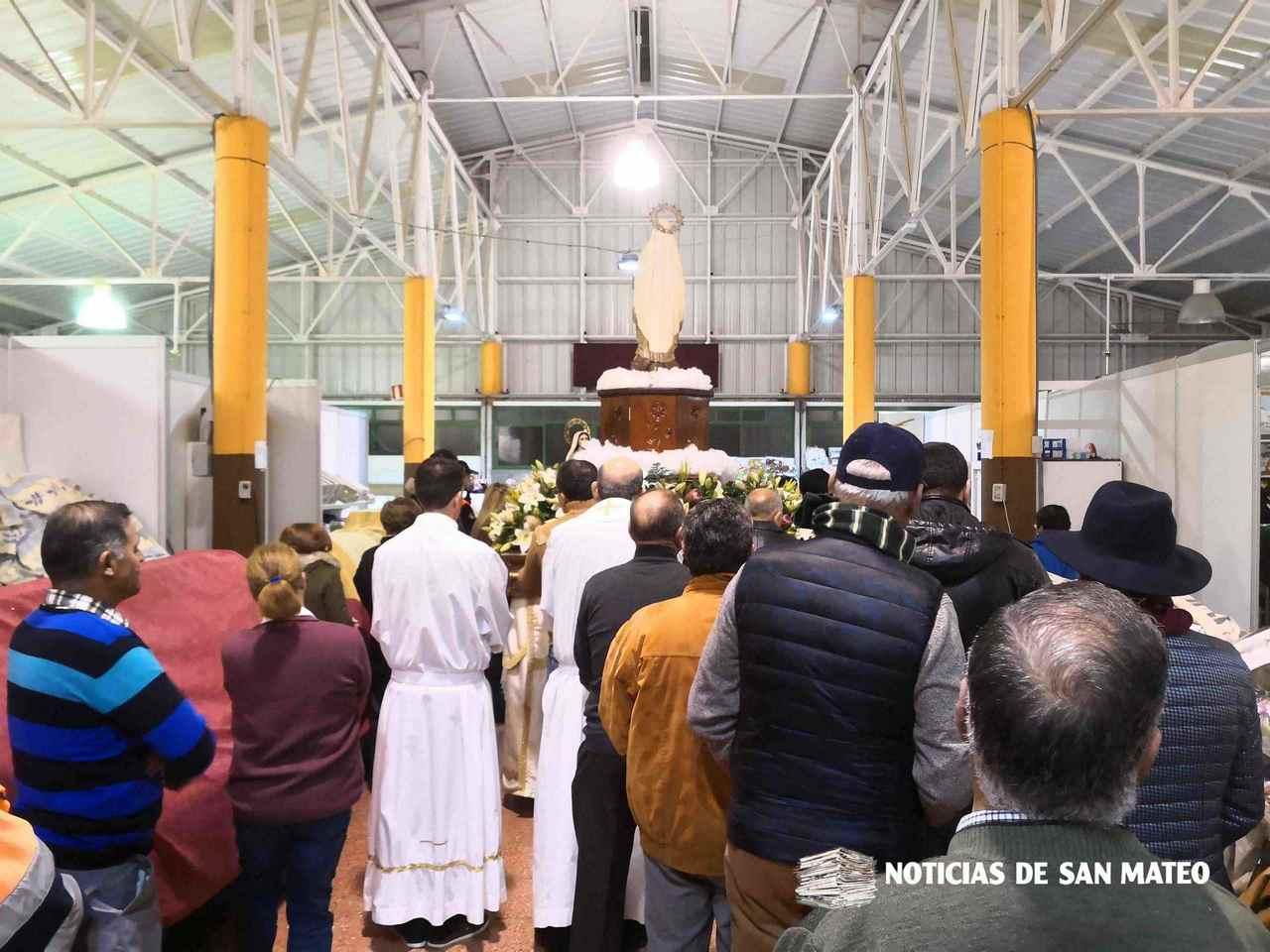 Fiestas de Lourdes en San Mateo 2019