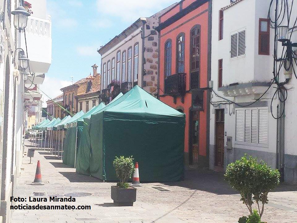 Montaje carpas Feria Patchwork 2015