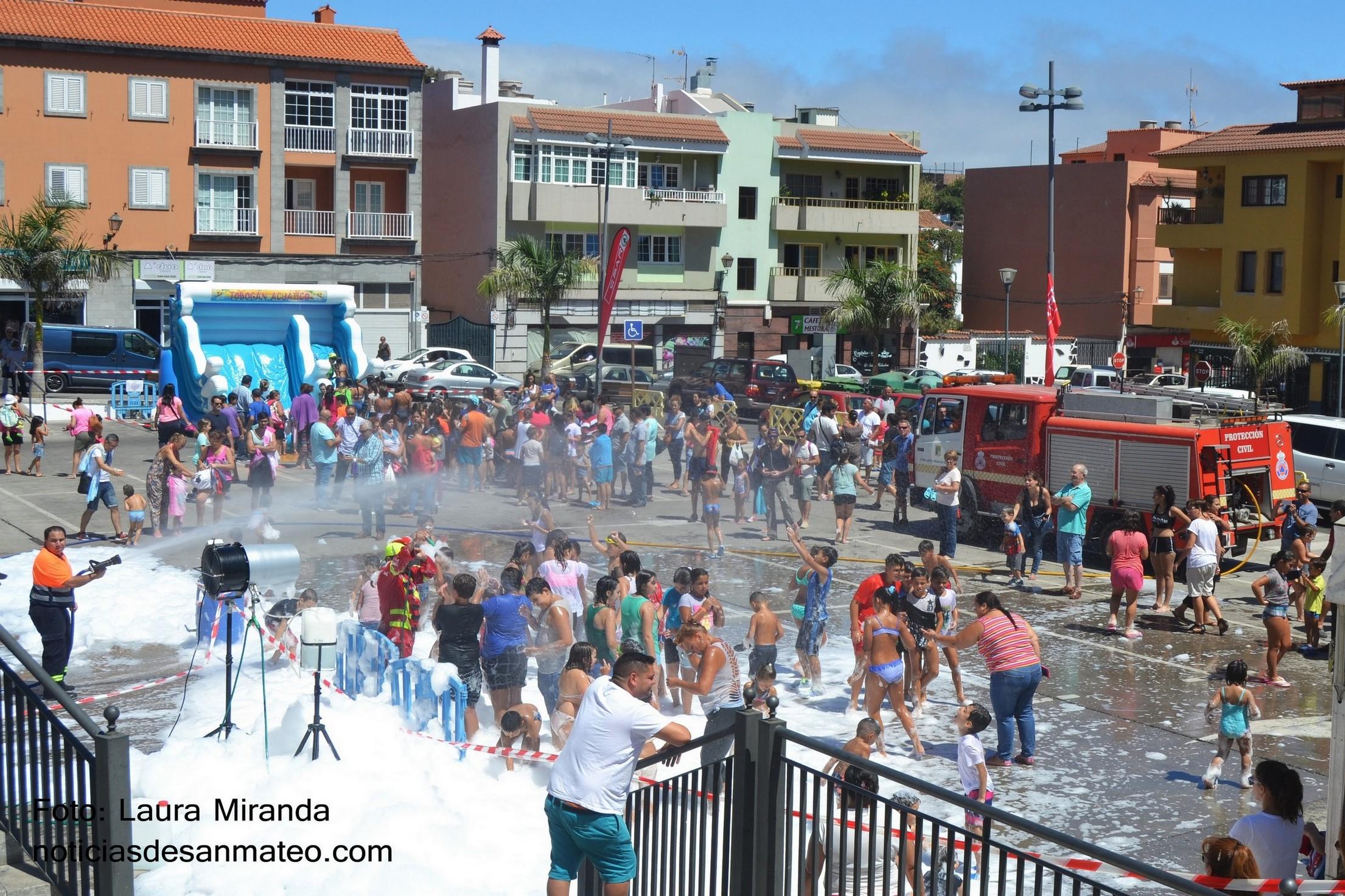 Fiesta de la Espuma San Mateo 2016 NOTICIAS DE SAN MATEO
