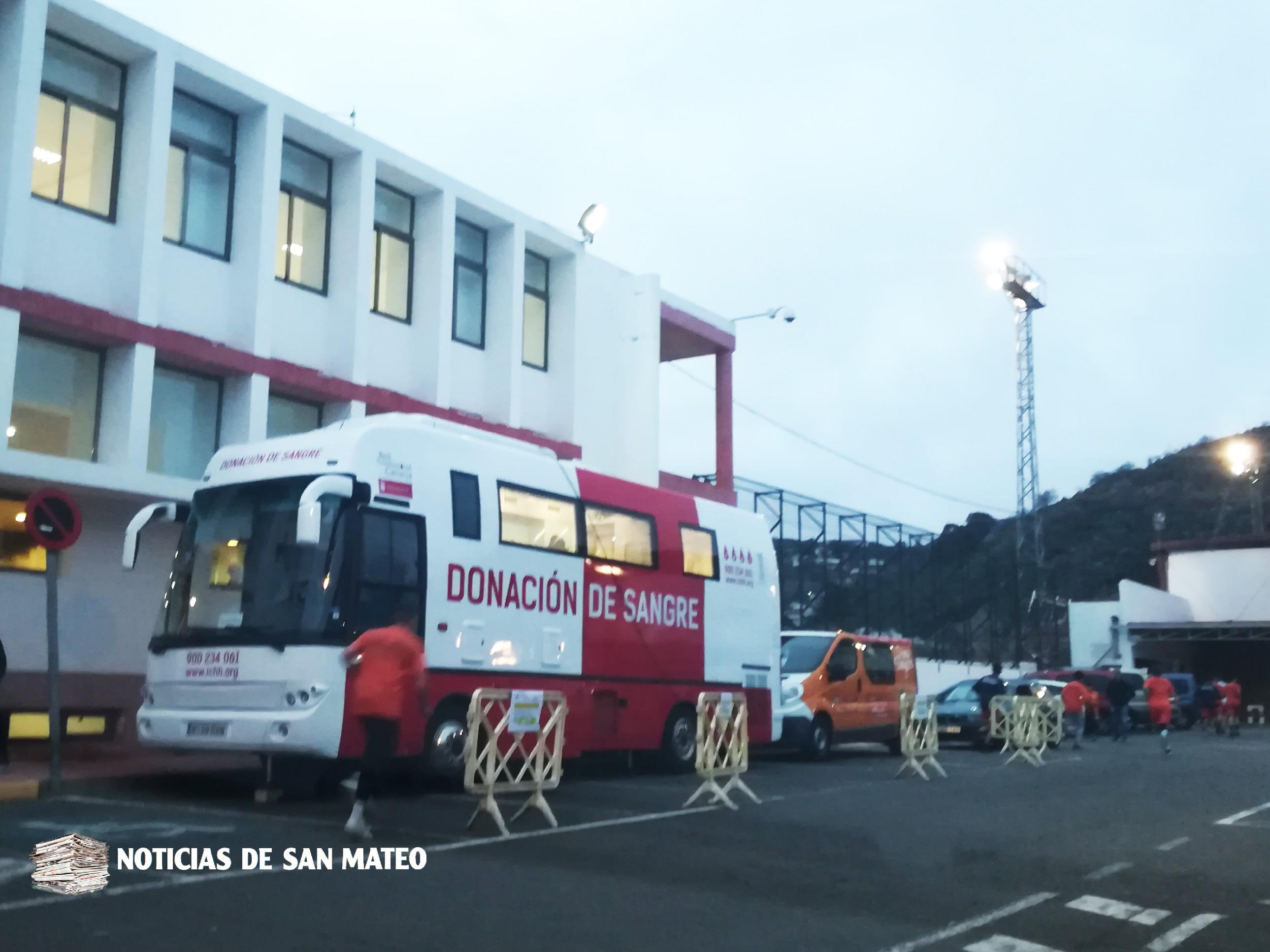 Guagua donacion sangre San Mateo febrero 2018 Foto Laura Miranda Noticias de San Mateo