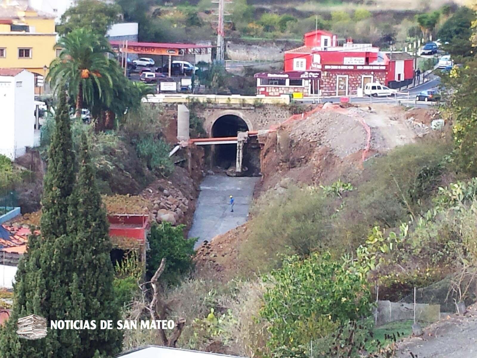 Obras Rotonda de El Retiro Noviembre de 2017 Foto Laura Miranda Noticias de San Mateo