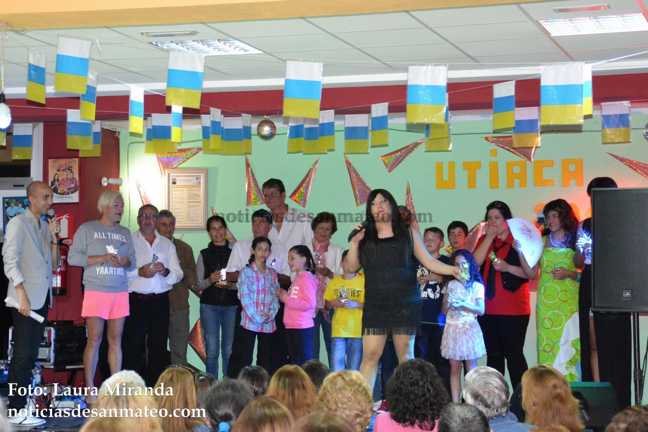 Pregon y Gala artistica Fiestas de Utiaca 2016 Foto Noticias de San Mateo Laura Miranda 5