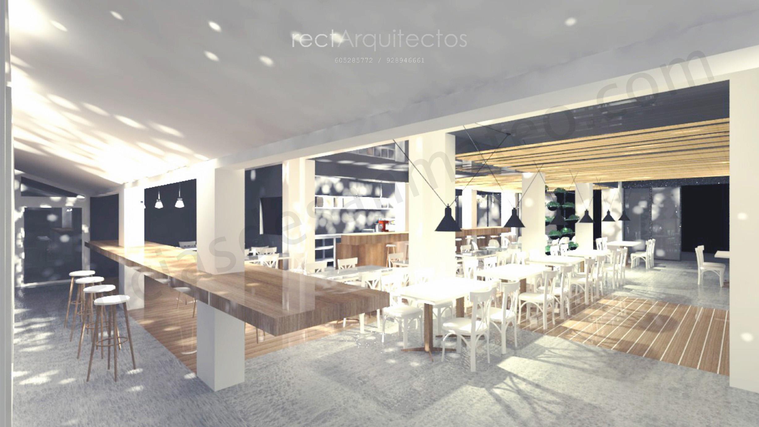 Restaurante El Mercado Proyecto 2periodico 26 INTERIOR 01 REST. MERCADO