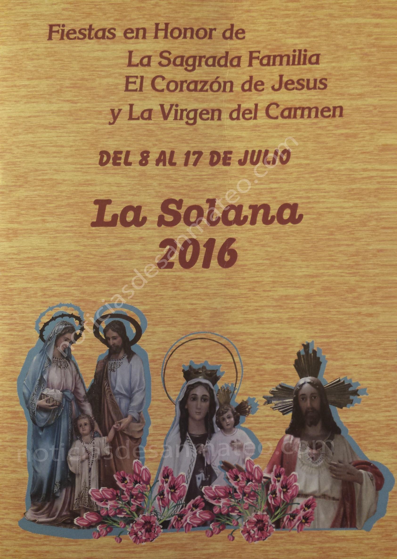 programa fiestas la solana 2016
