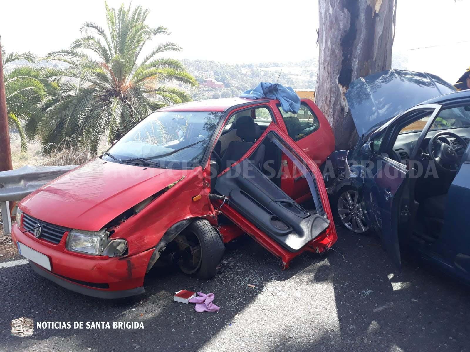 Accidente GC 15 25 sept 2018 Foto Laura Miranda Noticias de Santa Brigida