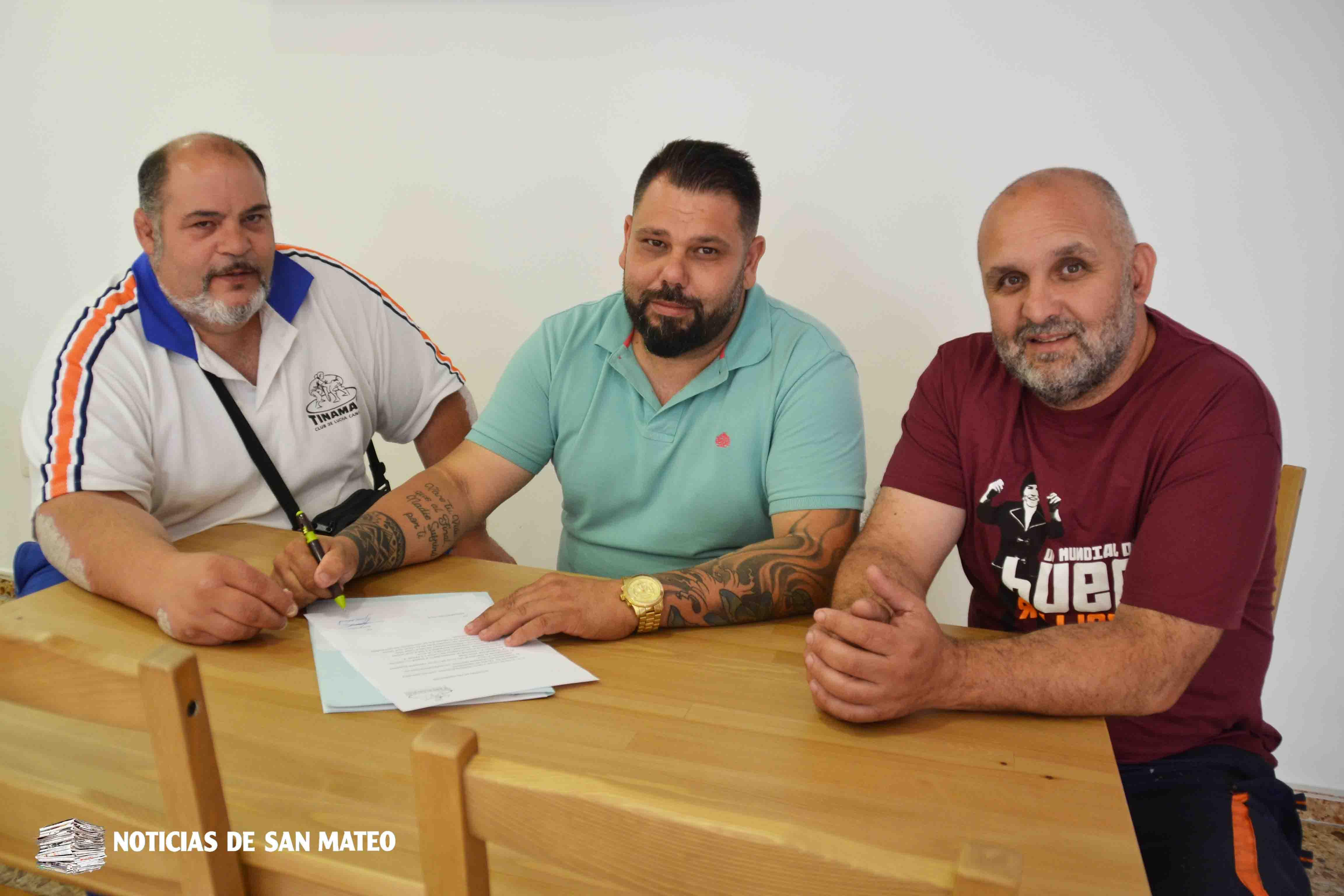 Acuerdo Tinamar La Villa para portada Foto Noticias de San Mateo Laura Miranda