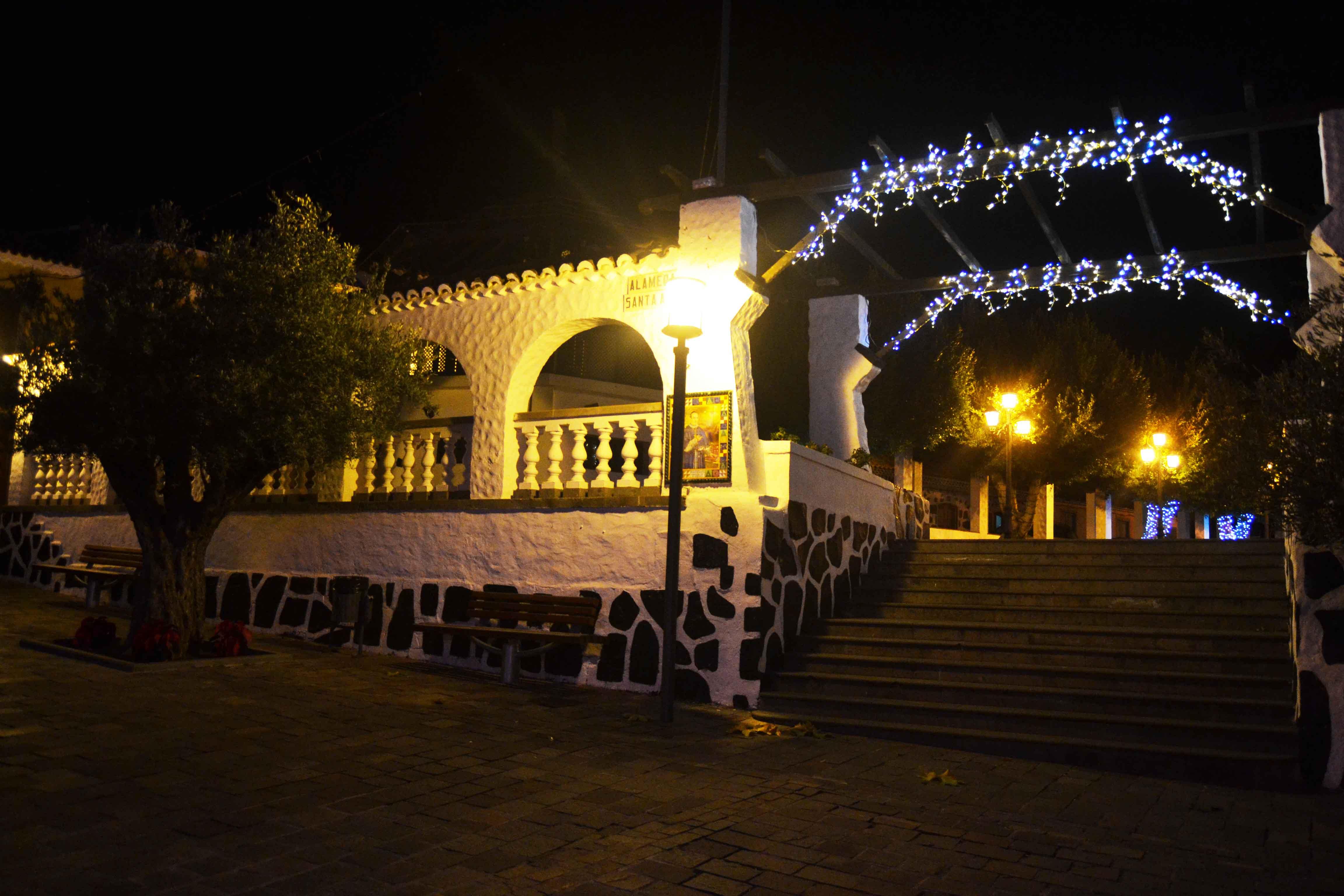 Alumbrado Navidad San Mateo 2016 Foto Laura Miranda 1