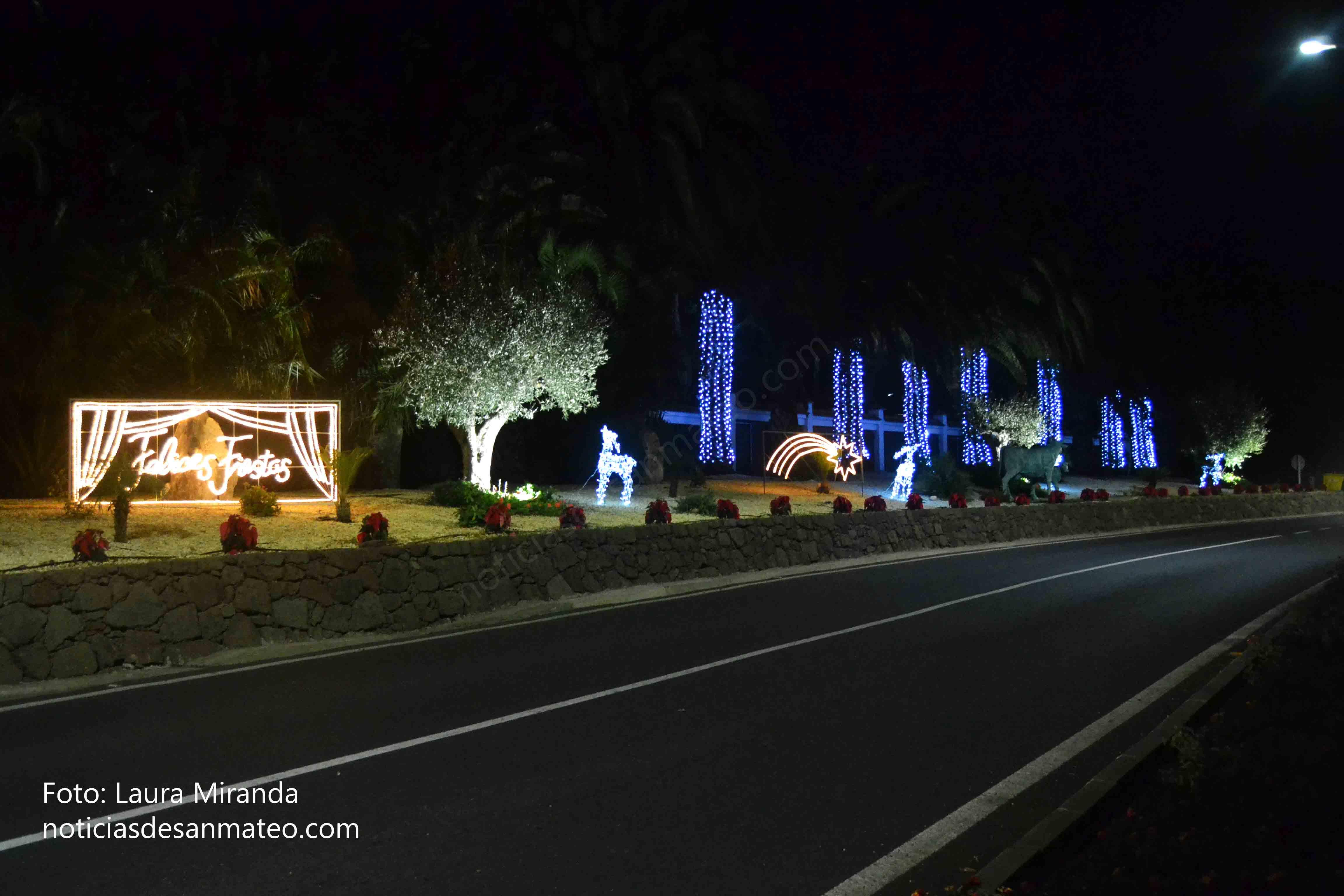 Alumbrado Navidad San Mateo 2016 Foto Laura Miranda 2