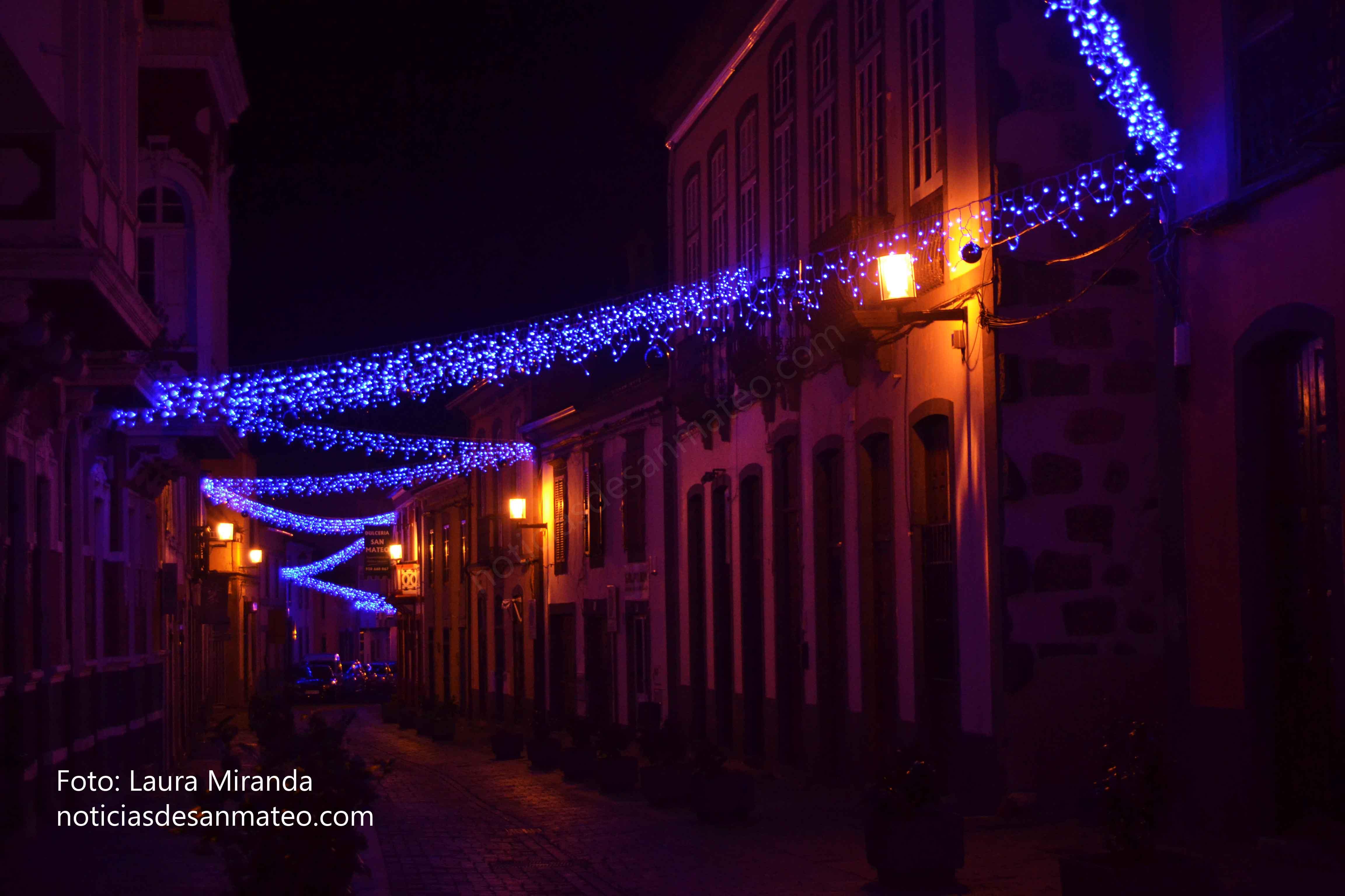 Alumbrado Navidad San Mateo 2016 Foto Laura Miranda 4