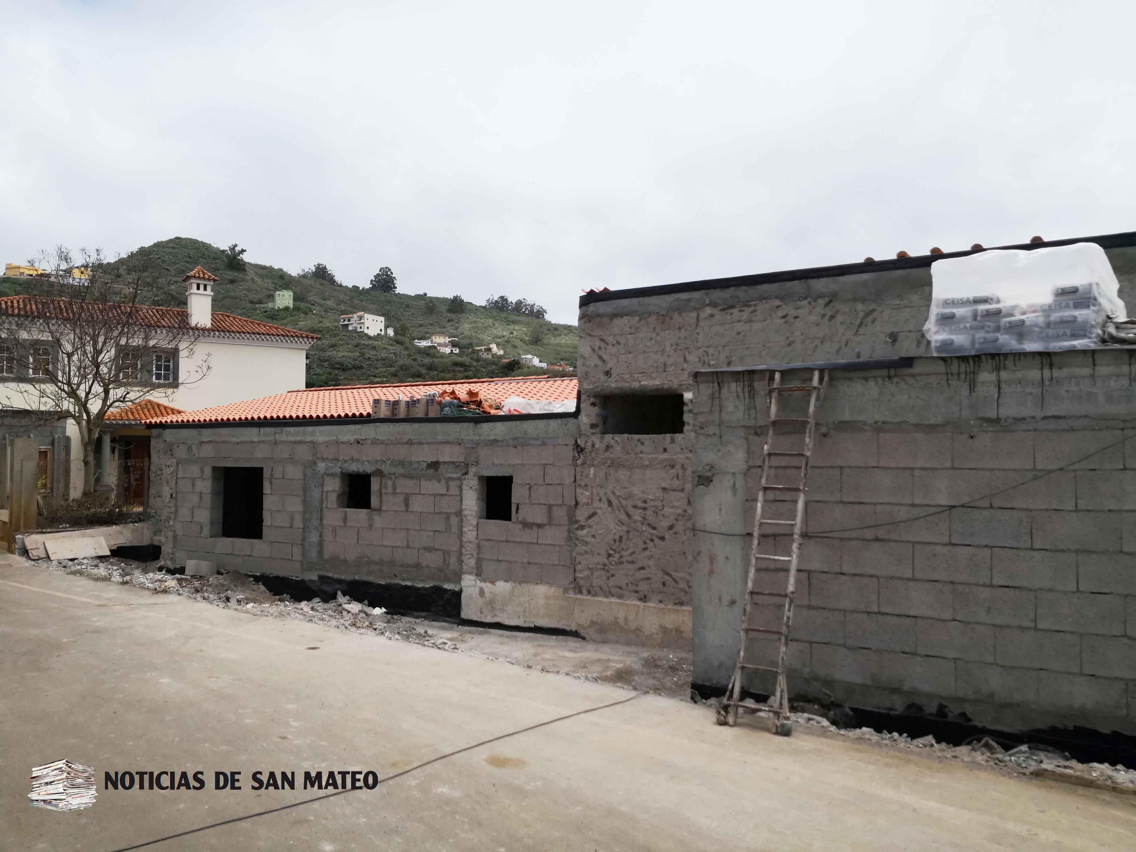 Antiguo colegio Los Corraletes Futuro Albergue Foto Noticias de San Mateo