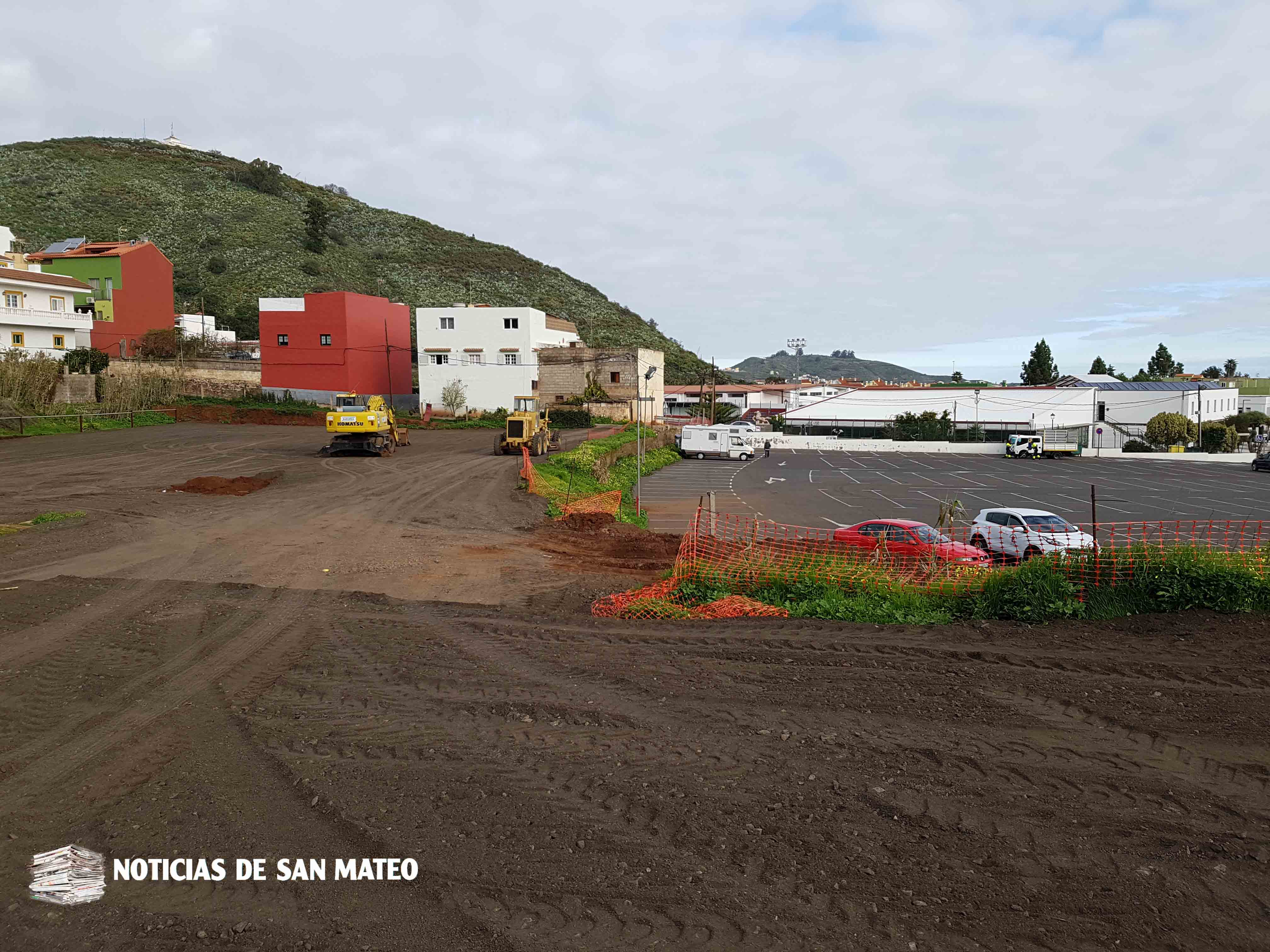 Aparcamiento anexo Hoya Viciosa Foto Noticias de San Mateo