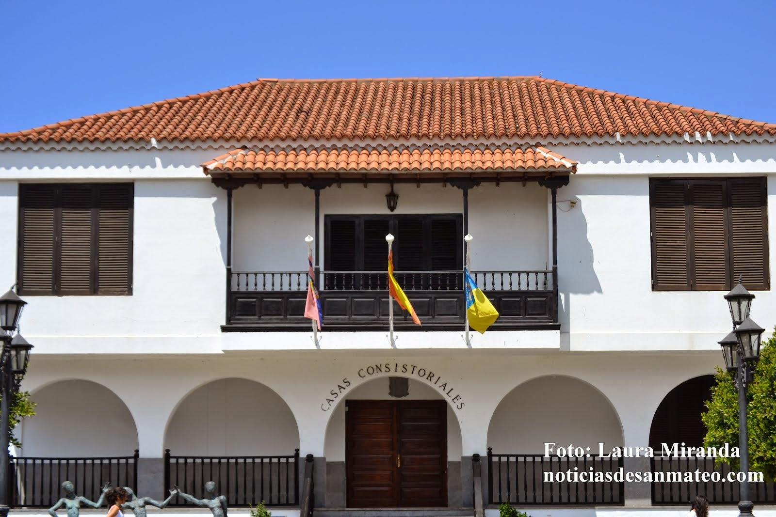 Ayuntamiento de San Mateo Foto Laura Miranda Noticias de San Mateo