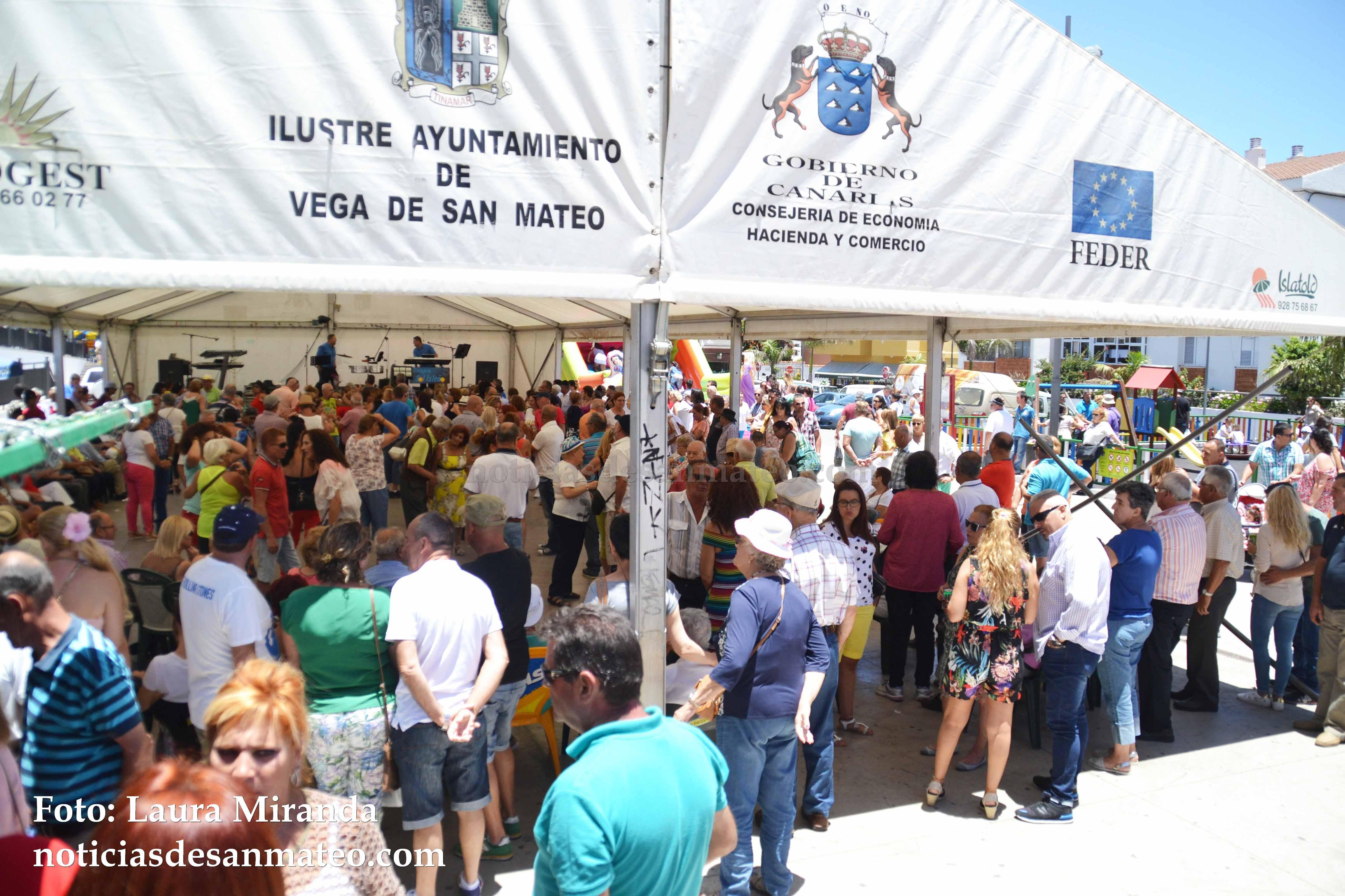 Baile Plaza del Pueblo Julio 2017