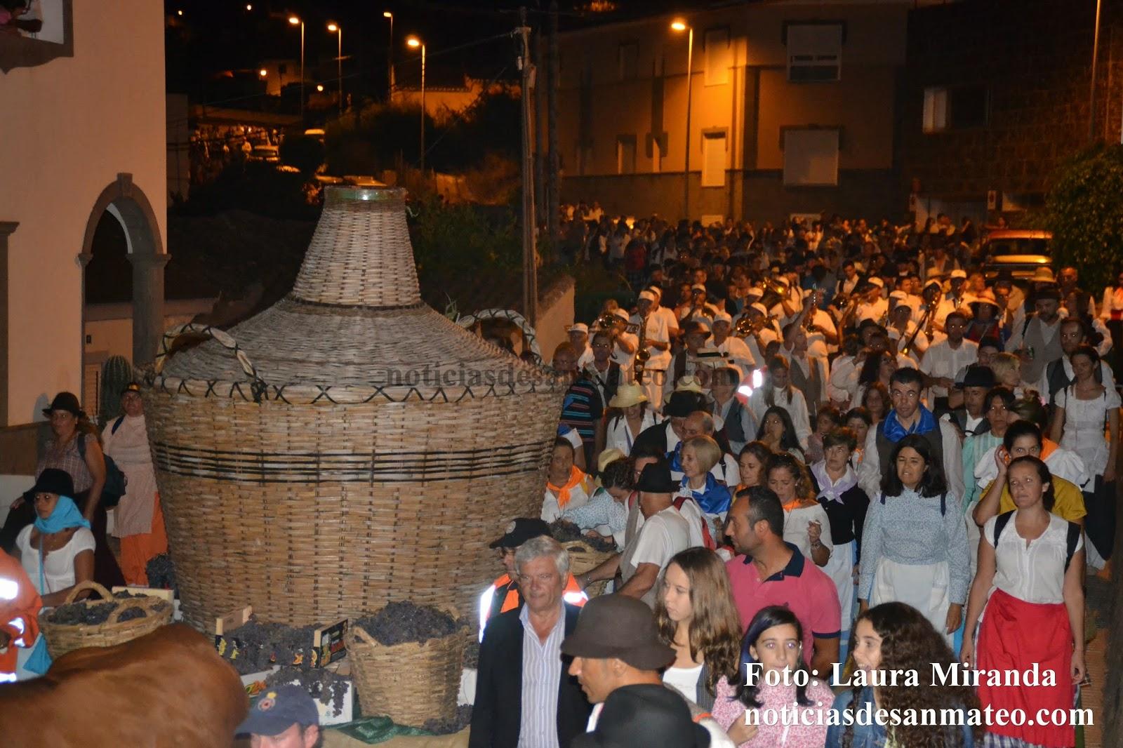 Bajada del Vino en San Mateo 27 de septiembre de 2014 Foto Laura Miranda Noticias de San Mateo 3