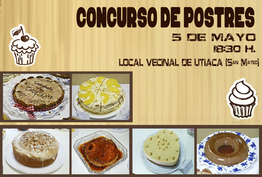 CONCURSO DE POSTRES UTIACA 2016