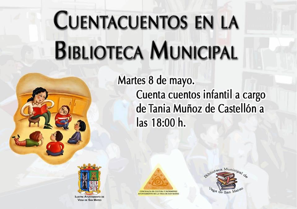 CUENTACUENTOS 8 DE MAYO
