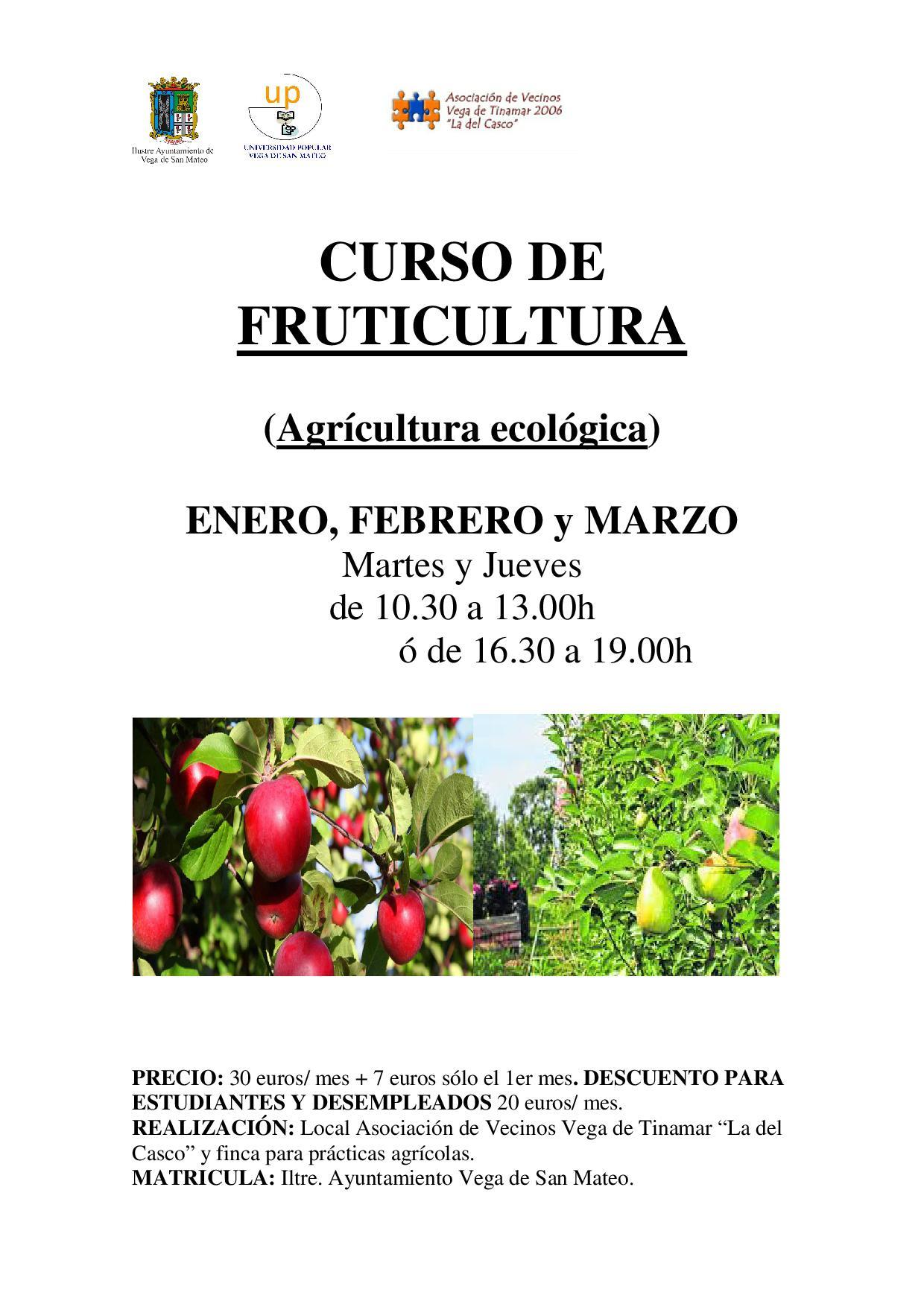 CURSO Fruticultura up san mateo noticias de san mateo