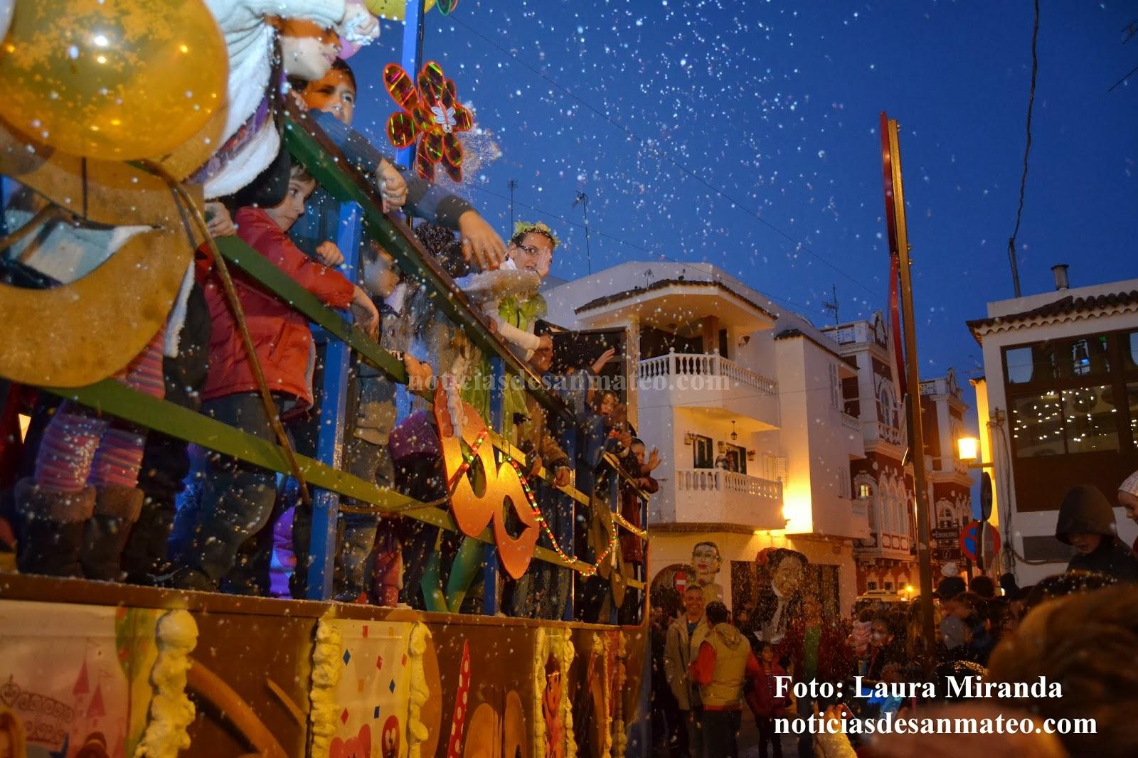 Cabalgata de Reyes en San Mateo 5 de enero de 2014 Foto Laura Miranda Noticias de San Mateo 1