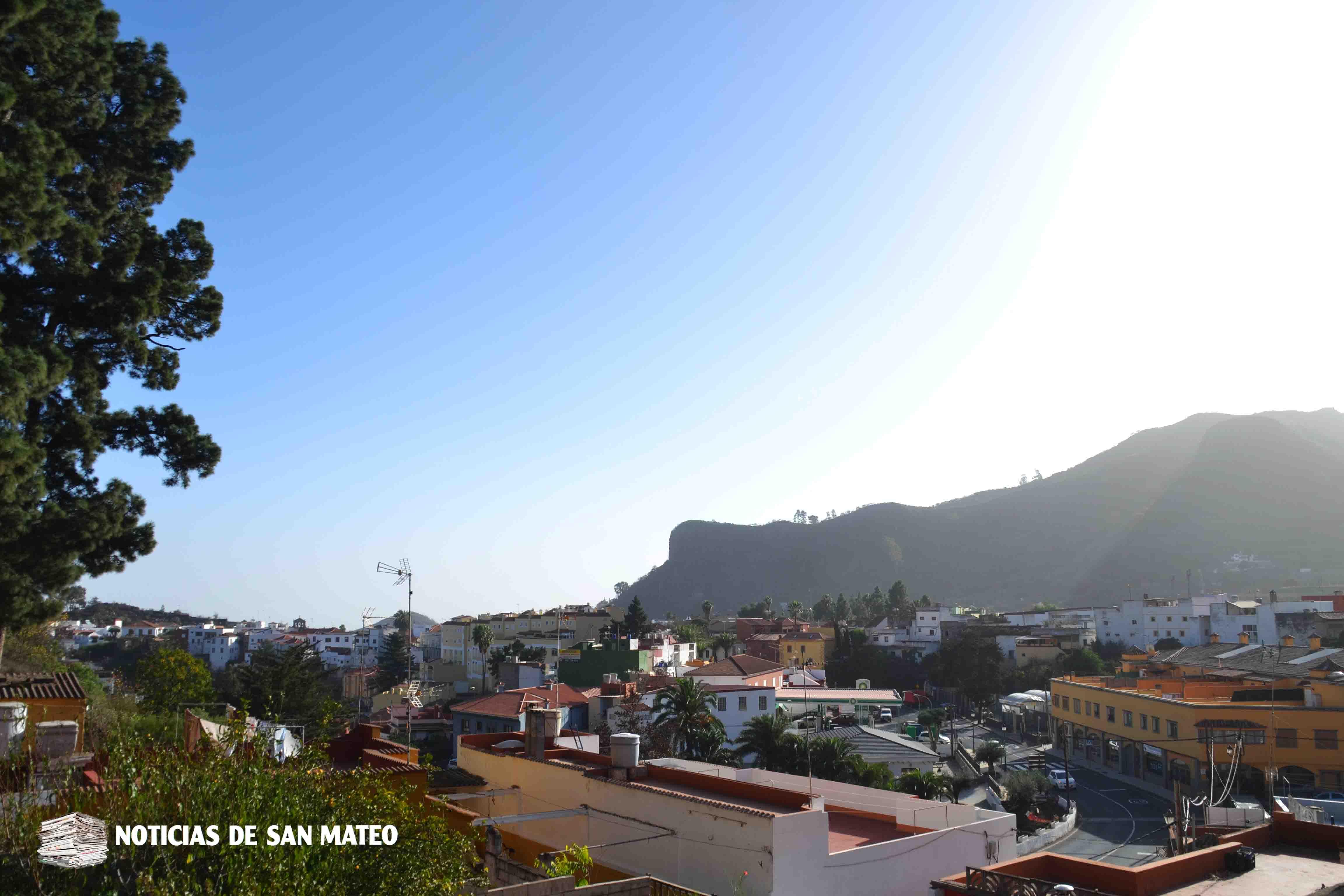Calima en San Mateo 5 diciembre de 2017 Foto Laura Miranda Noticias de San Mateo