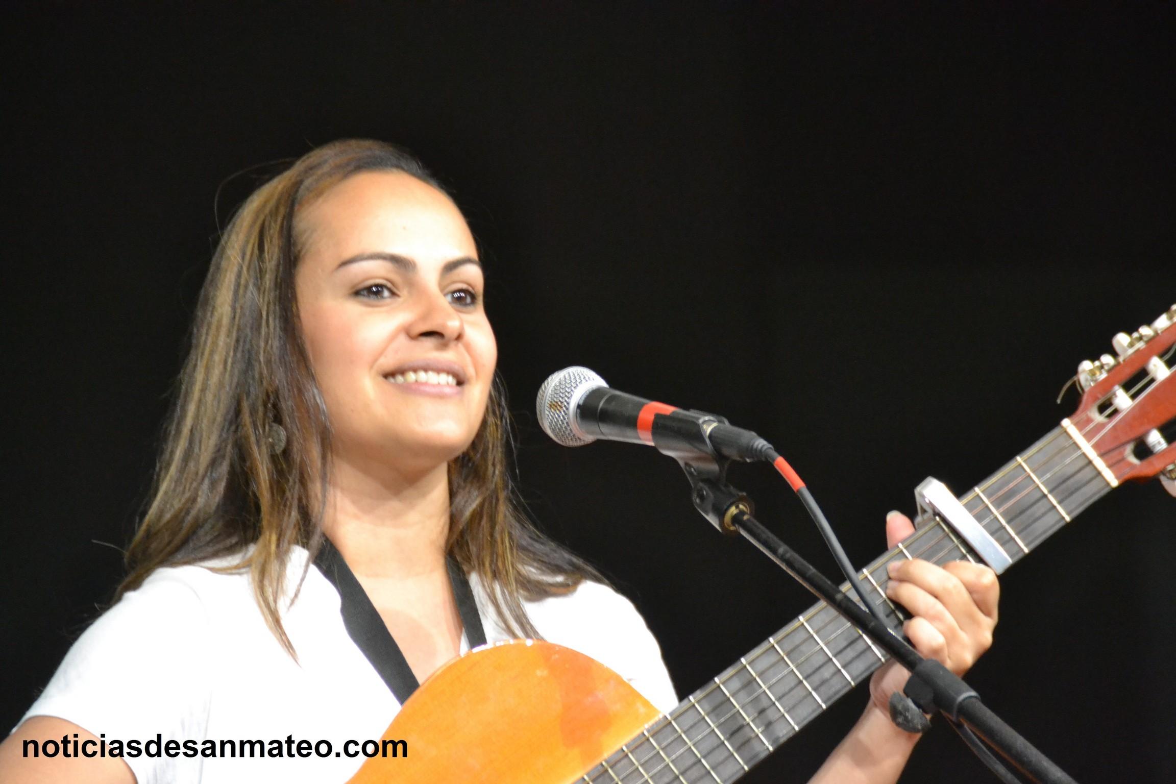 Cantautora Laura Perdomo noticias de san mateo