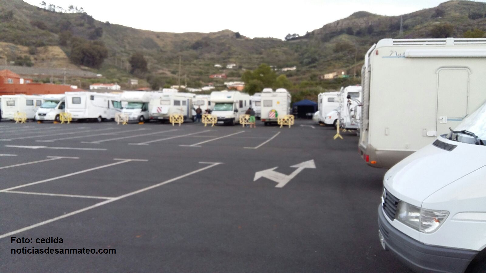 Caravanas en Hoya Viciosa Mayo de 2016 Foto Noticias de San Mateo