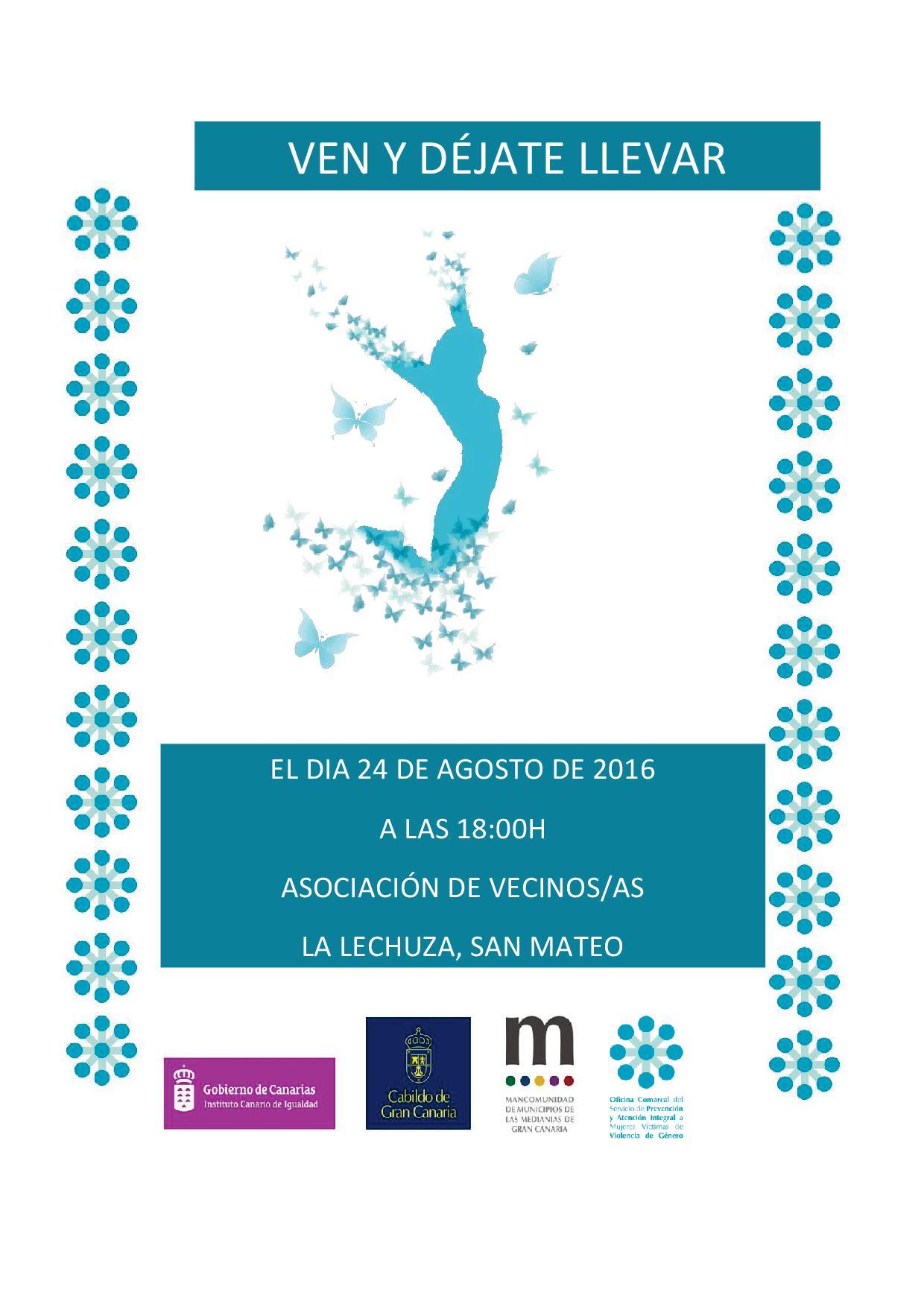 Cartel Barrio de La Lechuza 2016