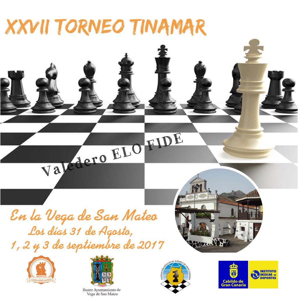 Cartel Torneo ajedrez Tinamar