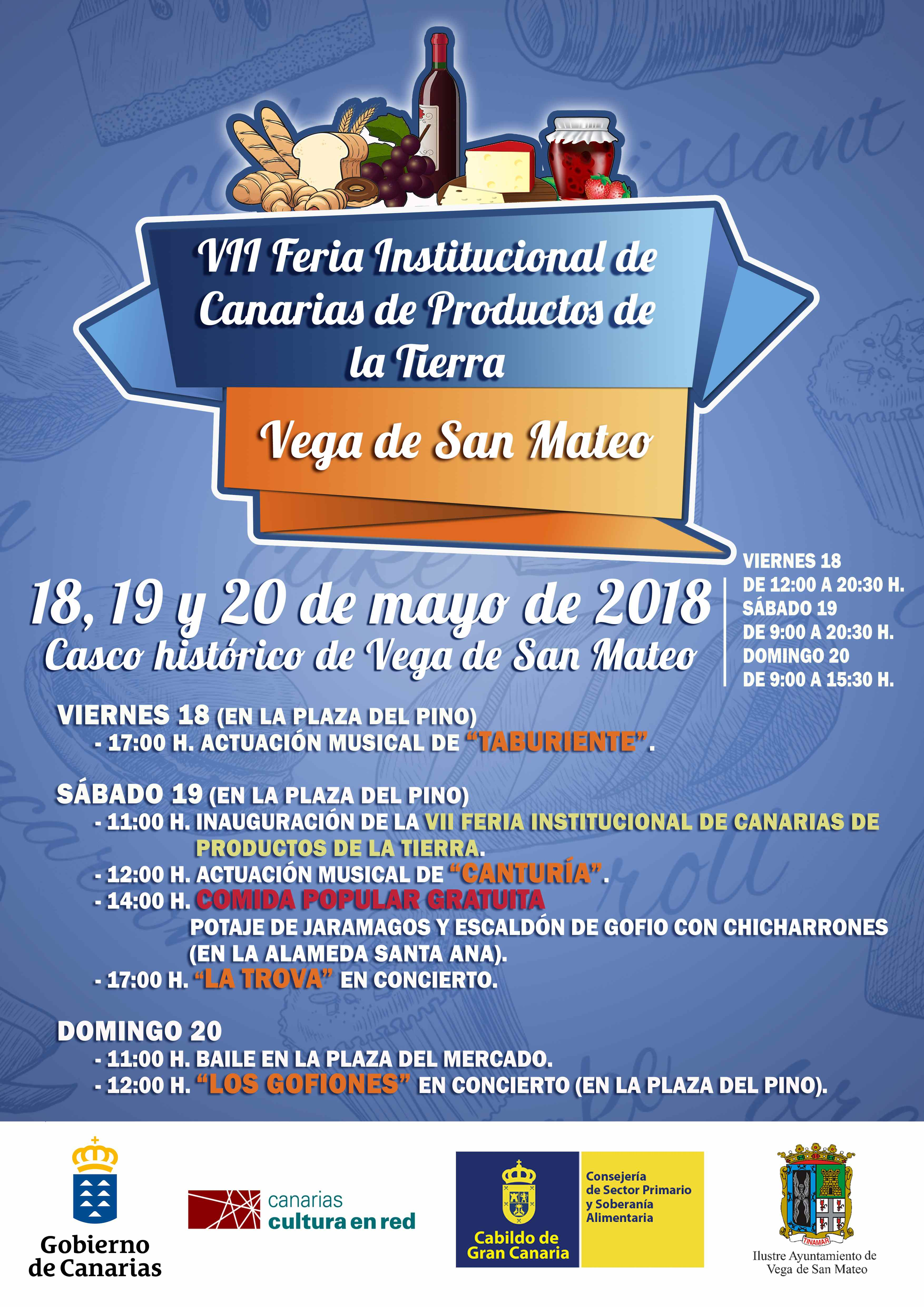 Cartel VII Feria Mayo 2018 RS