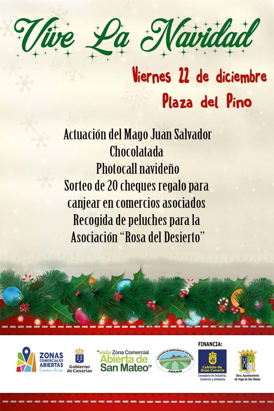 Cartel Vive La Navidad web