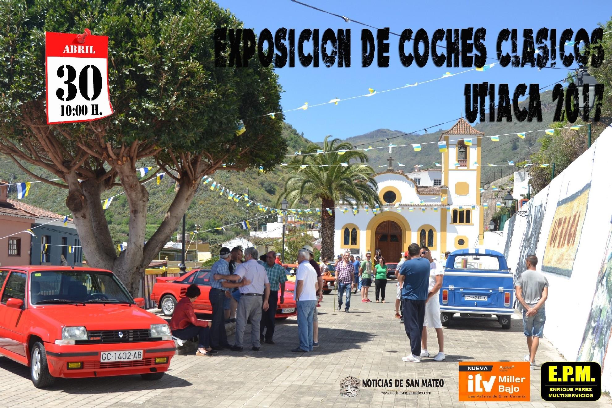 Cartel expo coches Utiaca 2017 2