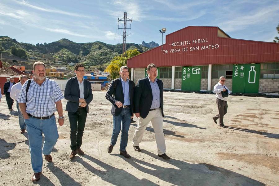 Clavijo visita San Mateo 17 de enero de 2016 Noticias de San Mateo 1