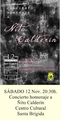 Concierto homenaje Nito Calderin