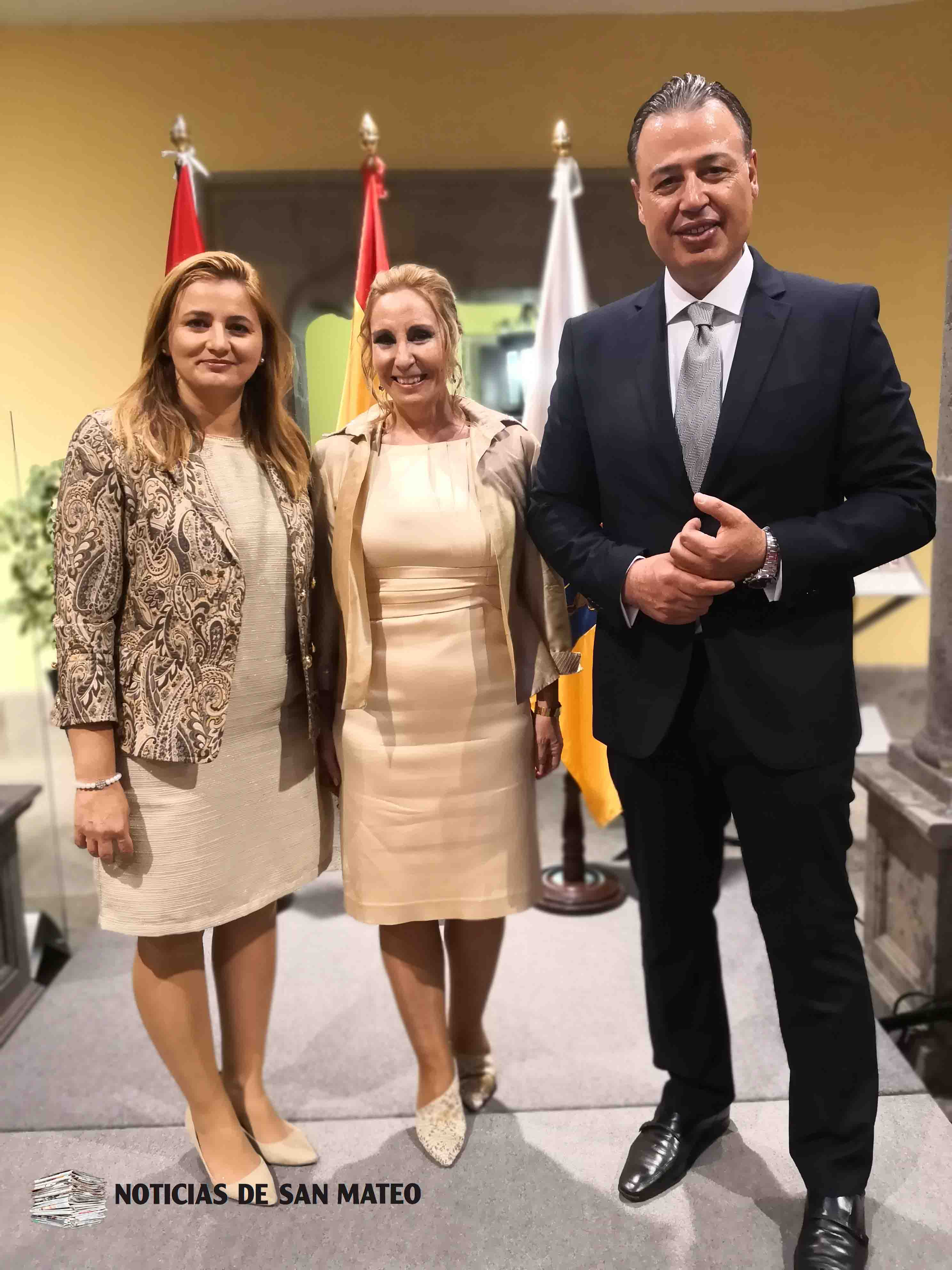 Consul de Paraguay Foto Laura Miranda Noticias de San Mateo