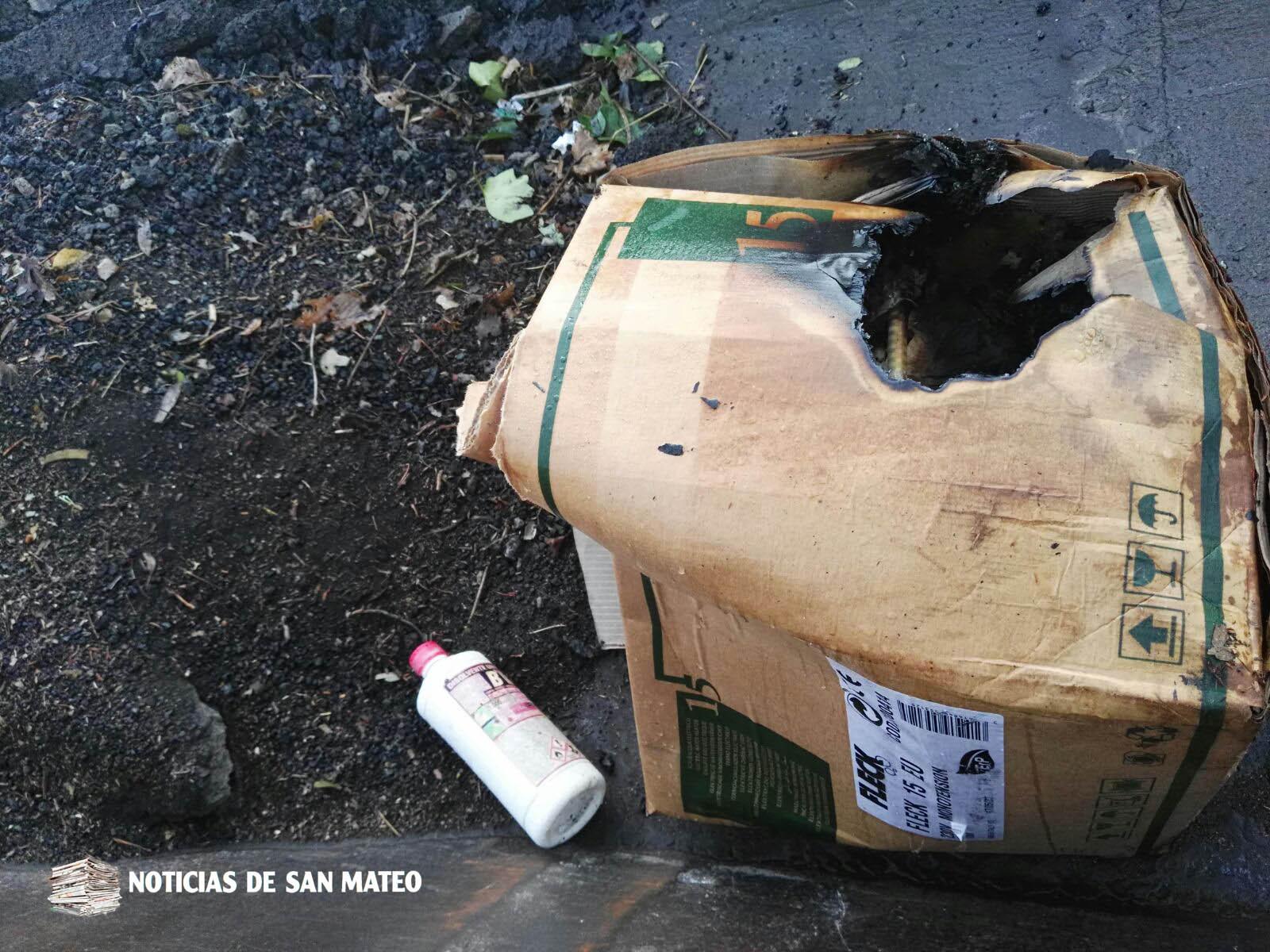 Contenedor Las Cuevas domingo 3 de diciembre de 2017 Noticias de San Mateo