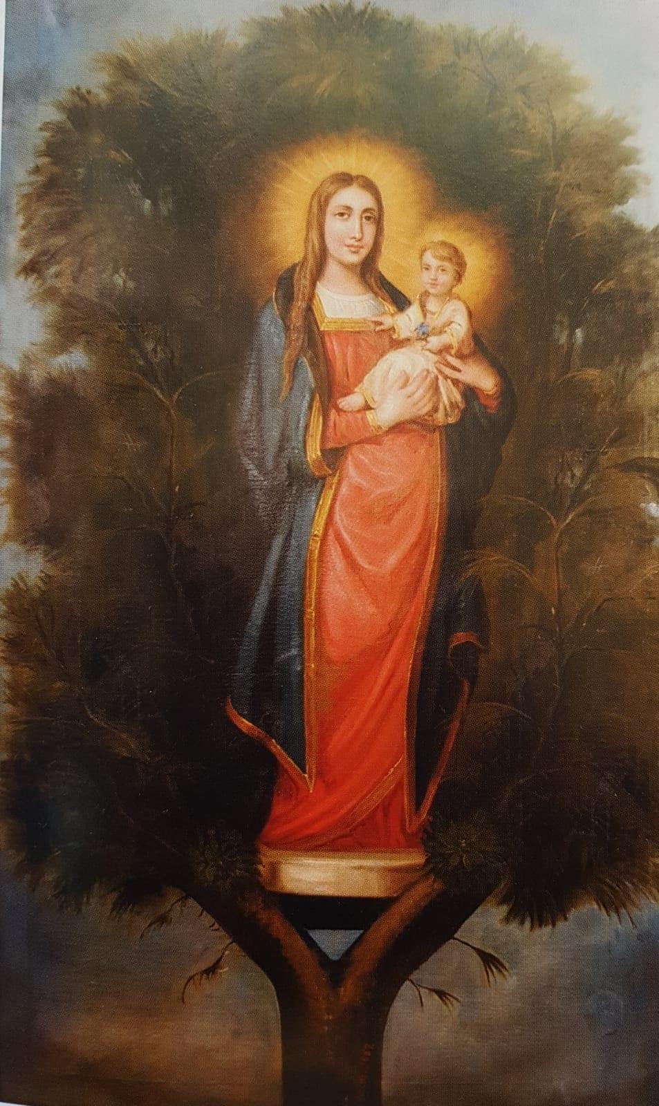 Cuadro Virgen del Pino