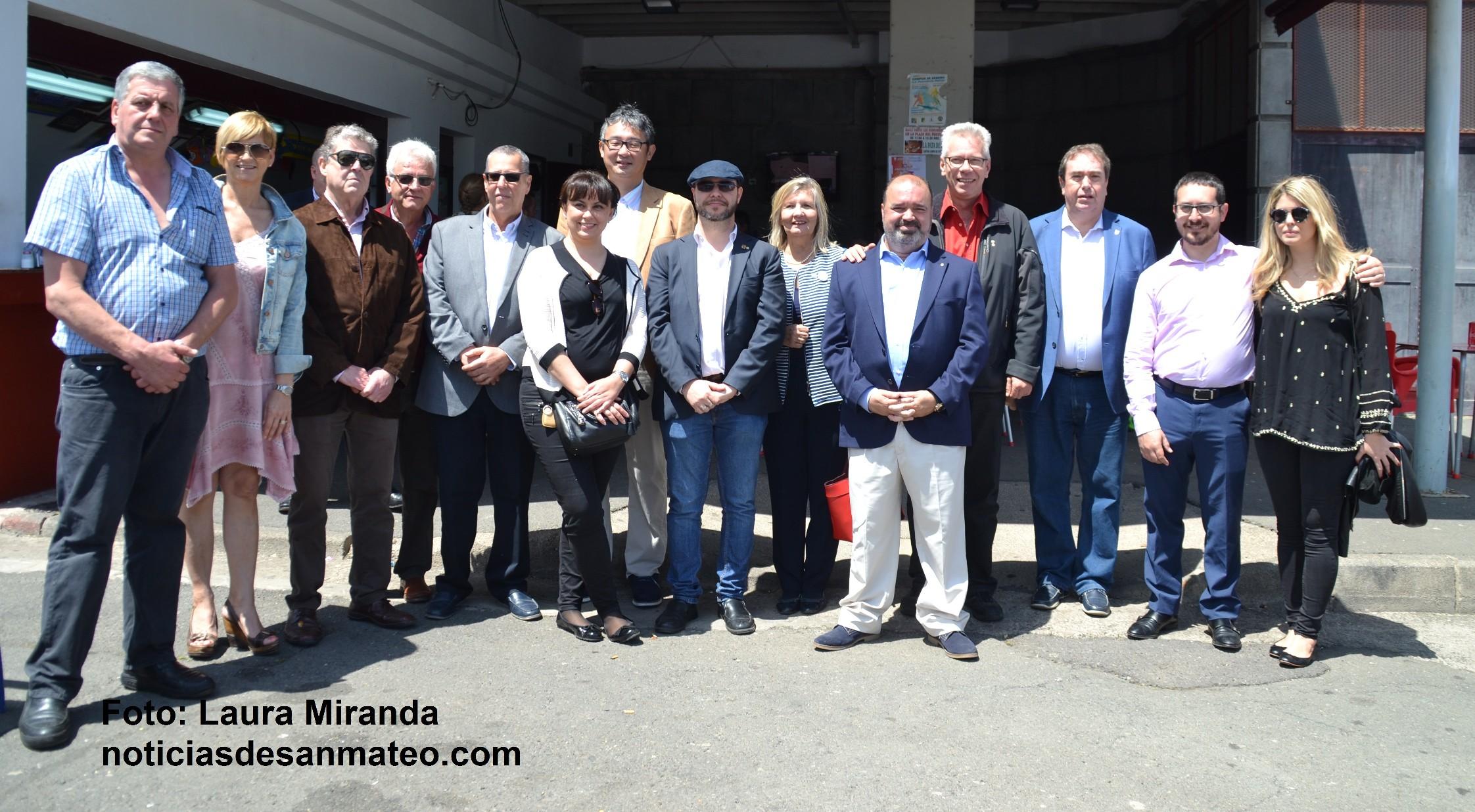 Cuerpo consular Las Palmas en San Mateo Abril de 2017