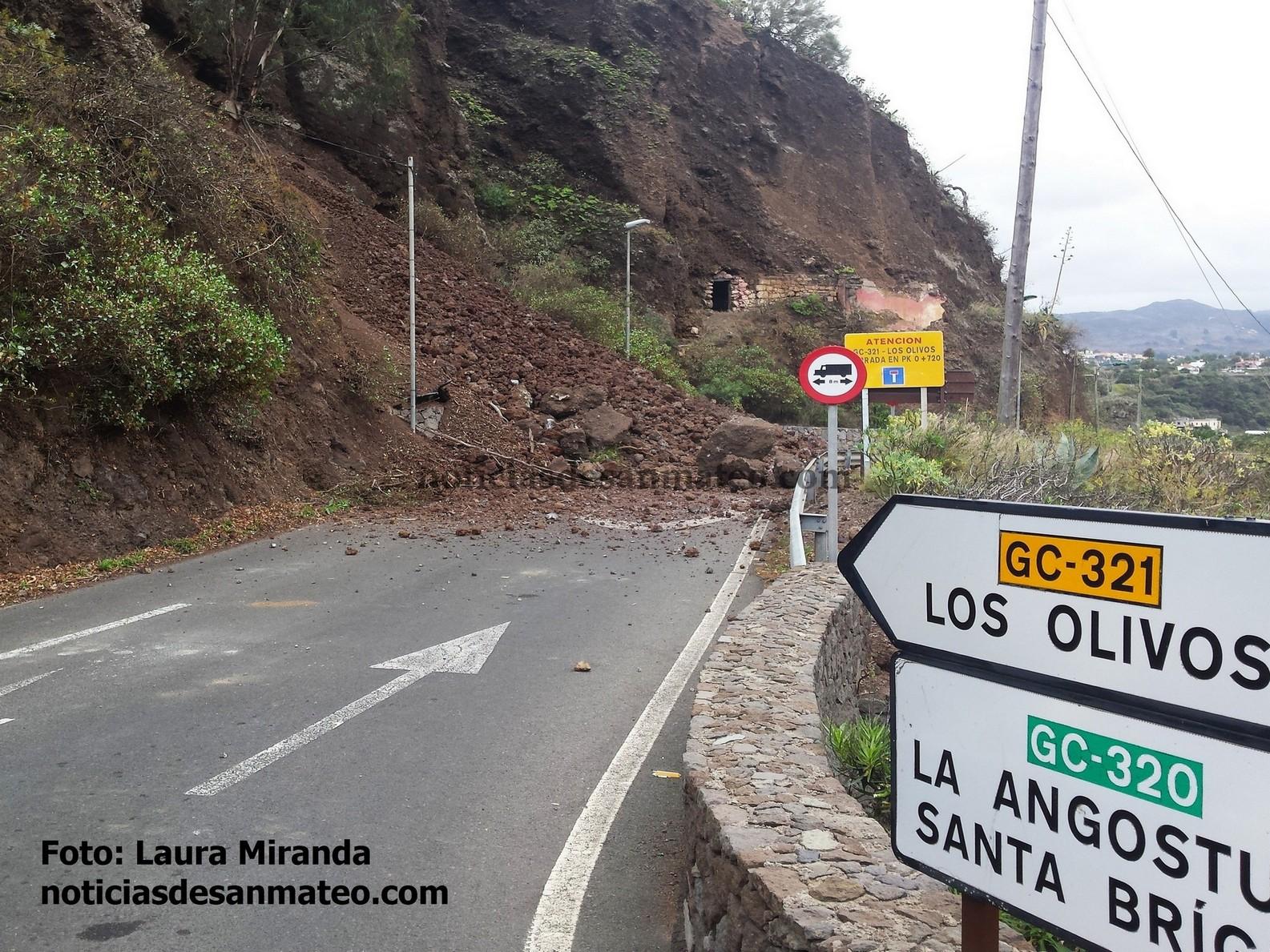 Derrumbe Los Olivos
