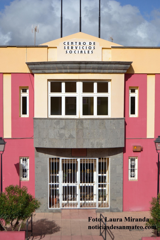 Edificio de Servicios Sociales Vega de San Mateo Foto Laura Miranda Noticias de San Mateo