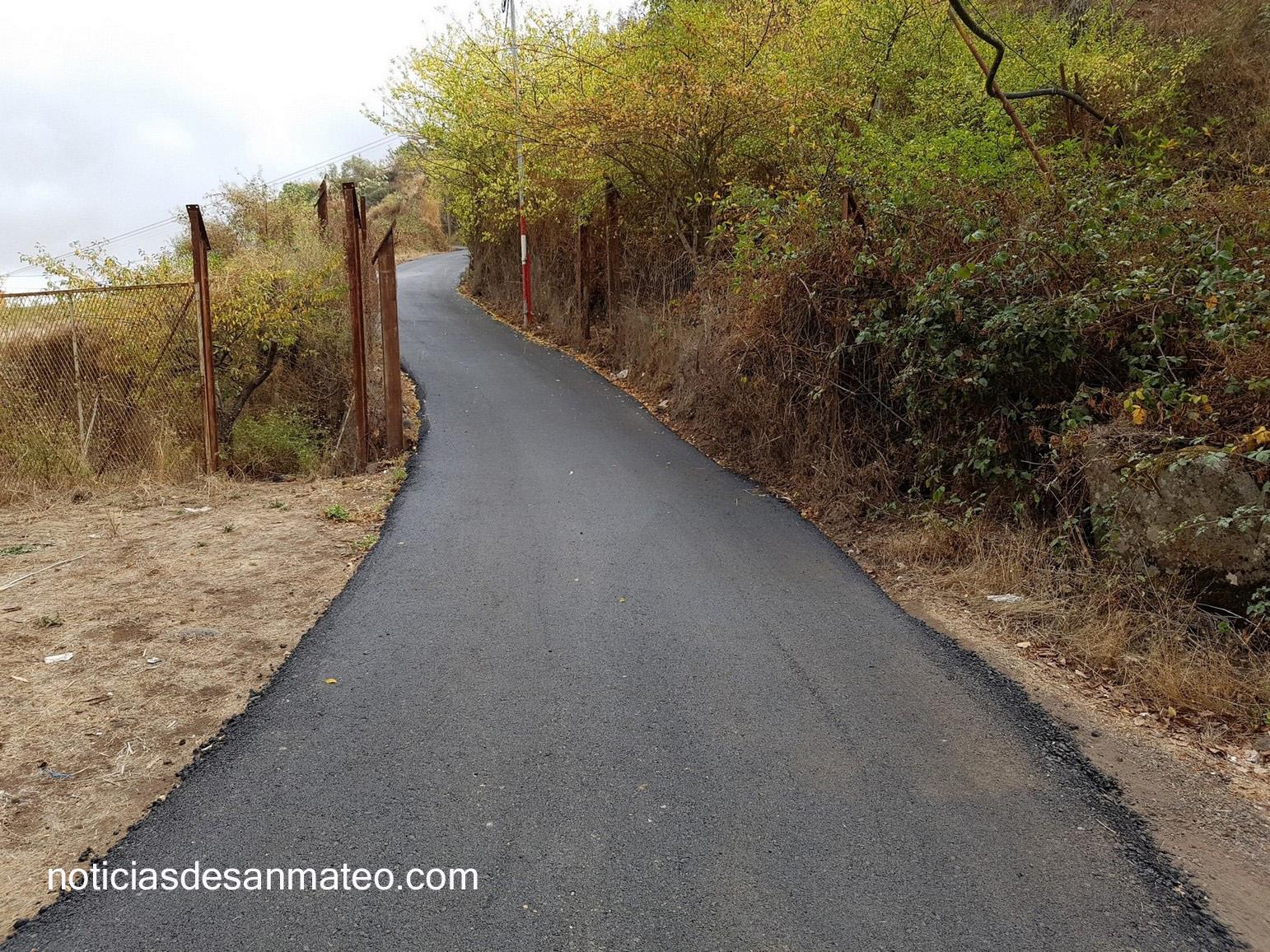 El Caidero asfaltada Oct. 2016 La Lechuza 1
