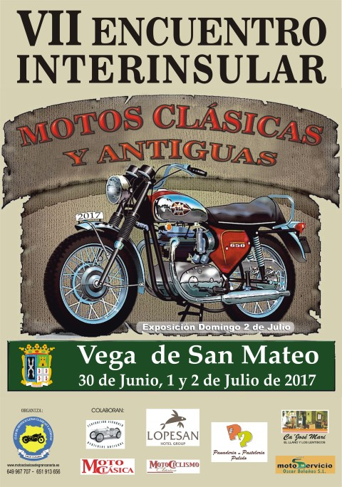 Encuentro Interinsular de motos clasicas 2017