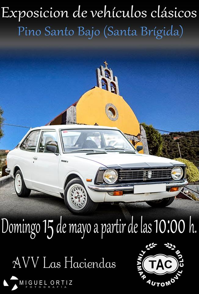 Expo coches clasicos Pino Santo Bajo 15 mayo 2016 NDSM