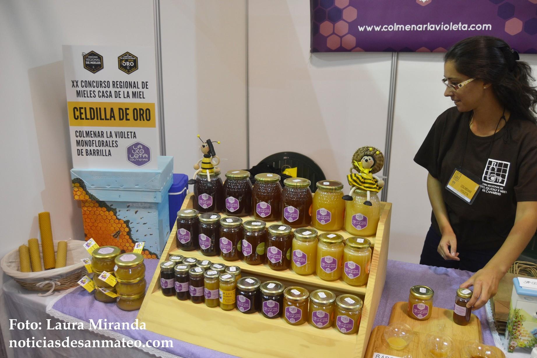 Feria Vino Queso y Miel de Canarias San Mateo 2016 Foto Laura Miranda 1
