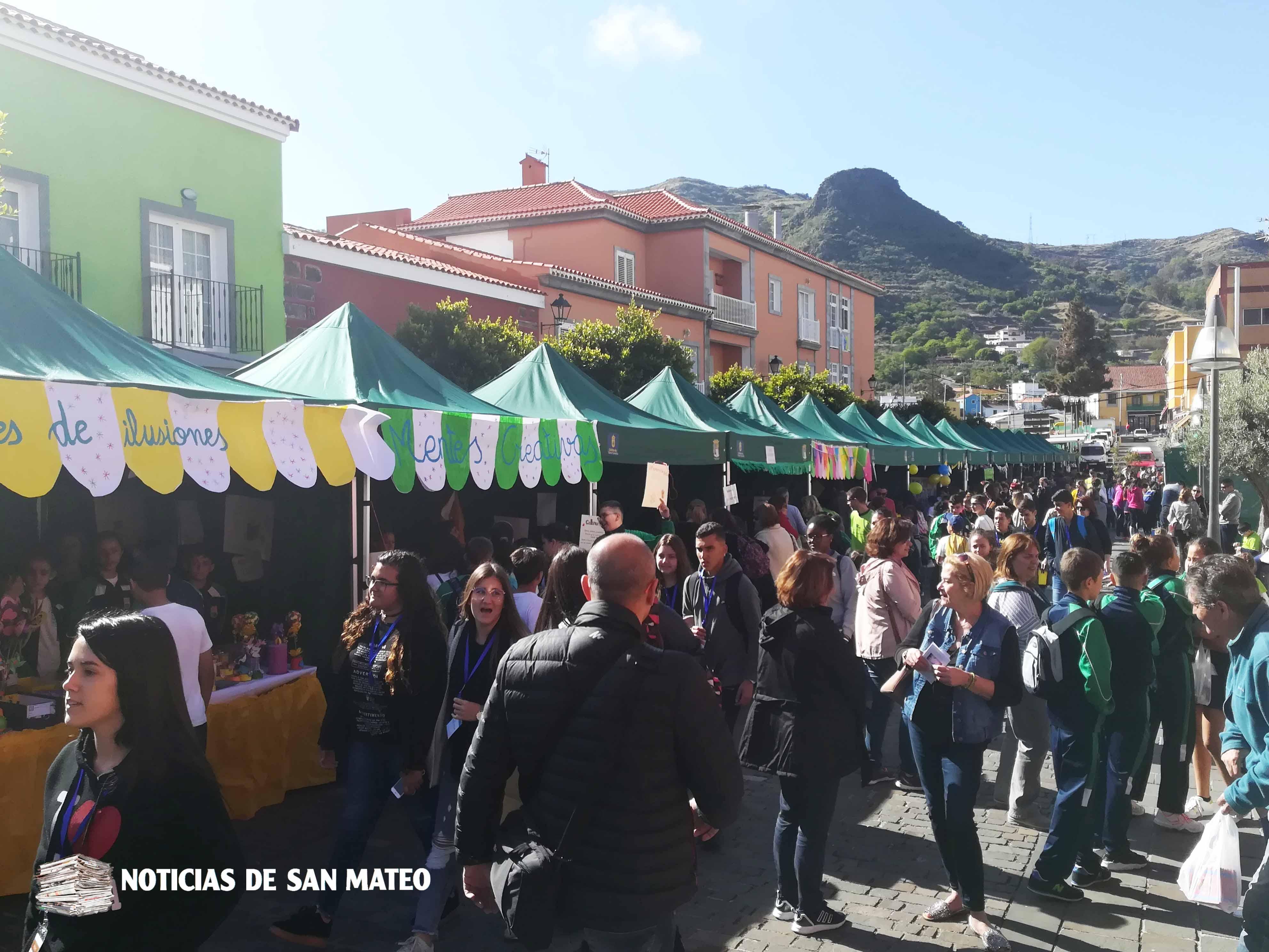 Feria de Cooperativas Escolares en San Mateo 2018