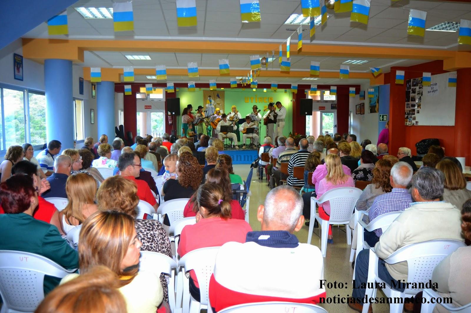 Fiesta de mayores en Utiaca 1 de mayo de 2014 Foto Laura Miranda Noticias de San Mateo 1
