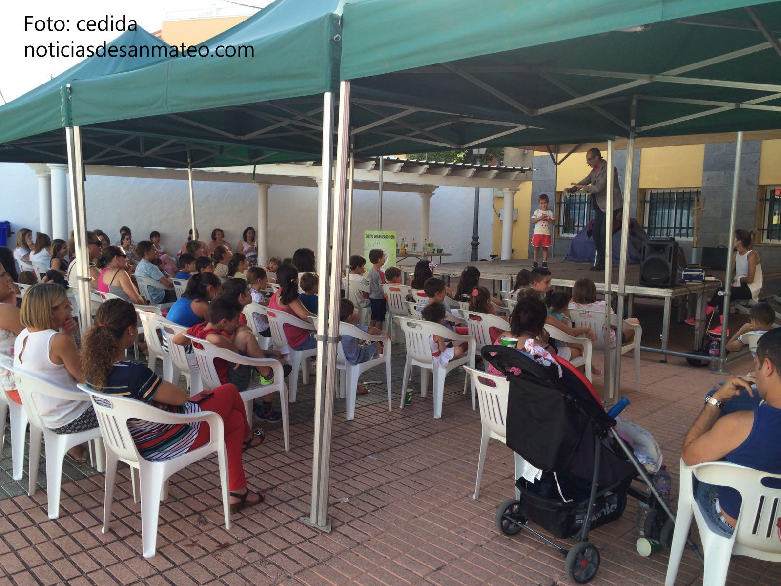 Fiesta infantil en La Solana 14 julio 2016