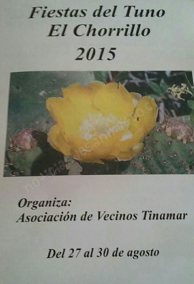 Fiestas de El Chorrillo San Mateo 2015