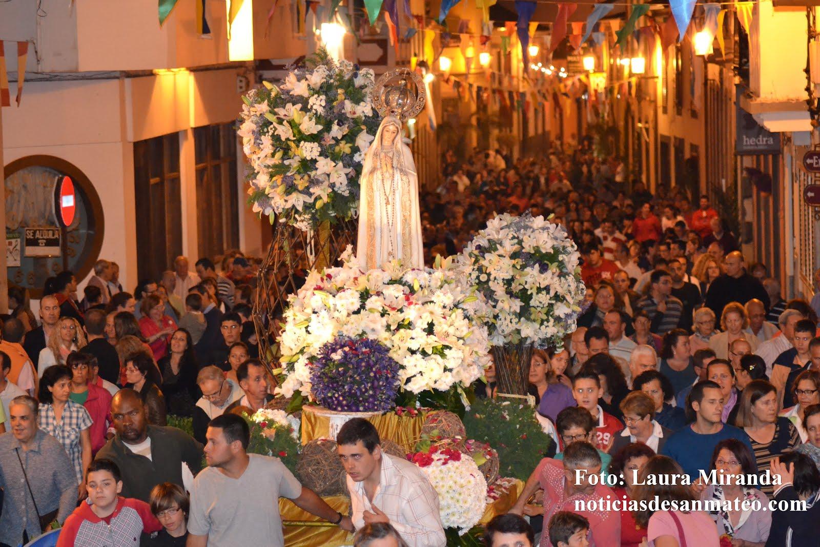 Fiestas de Fatima 11 de mayo de 2012 Foto Laura Miranda Noticias de San Mateo