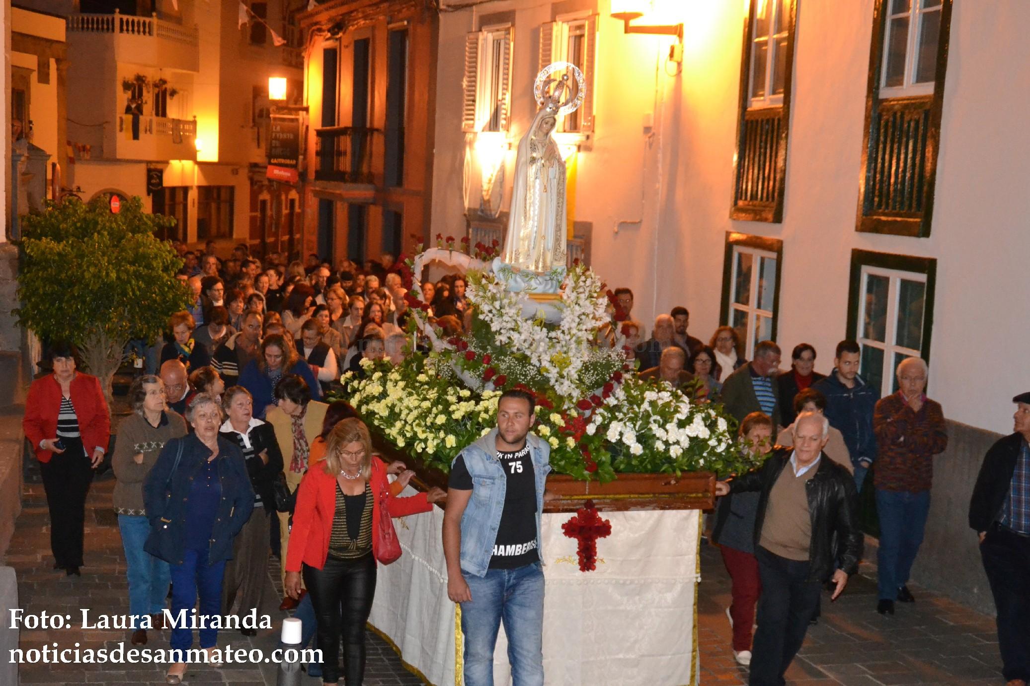 Fiestas de Fatima Vega de San Mateo FOTO LAURA MIRANDA NOTICIAS DE SAN MATEO