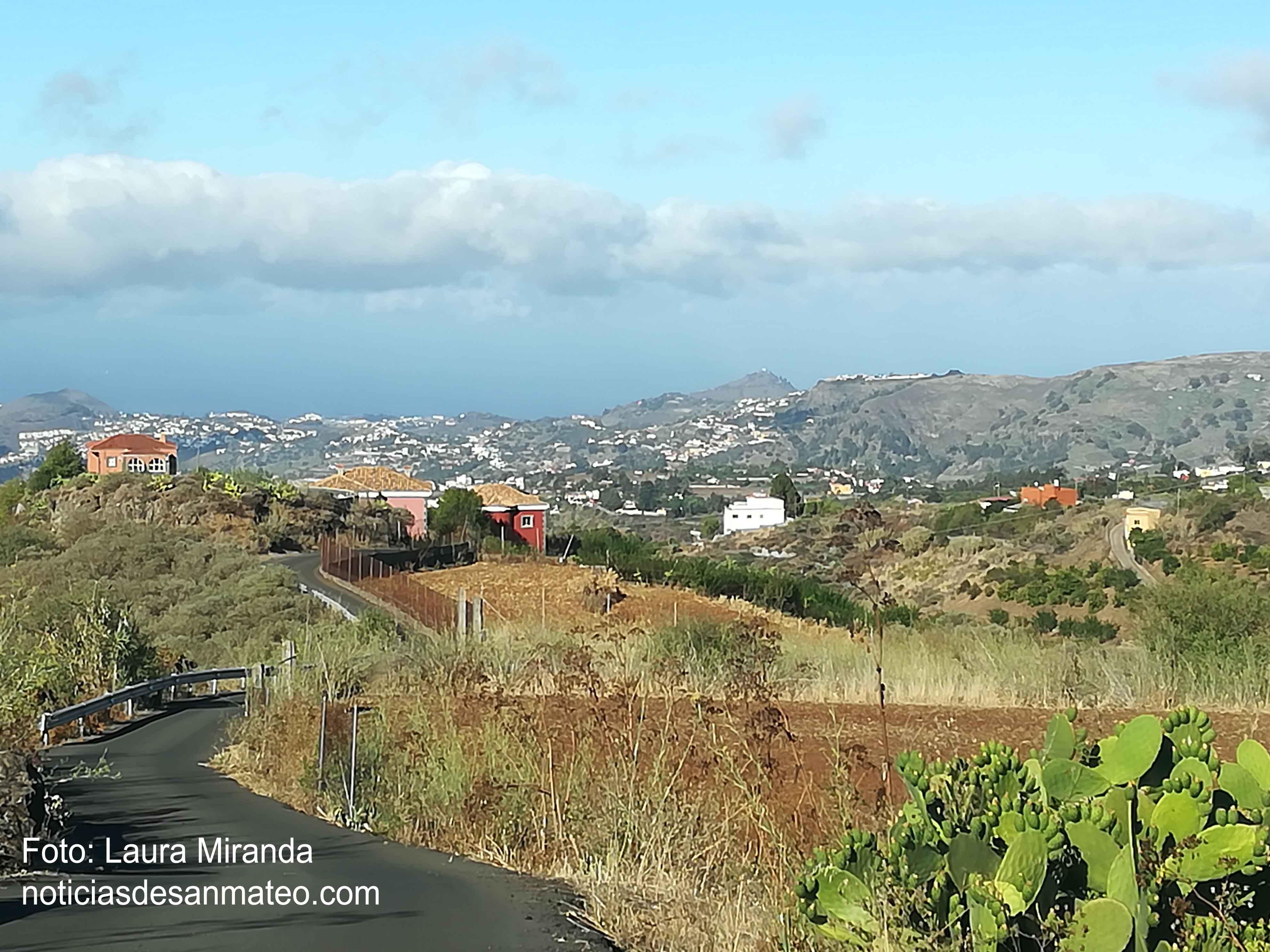 Foto desde El Hornillo San Mateo Agosto 2017