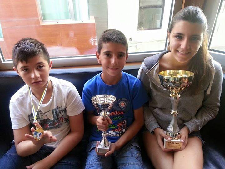 Ganadores torneo escolar ajedrez